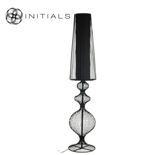 Floor lamp Classic Iron Wire Black - Haans Lifestyle B2B SHOP