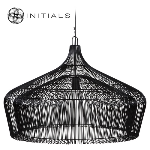 Hanging lamp factory iron wire black haans lifestyle b2b shop