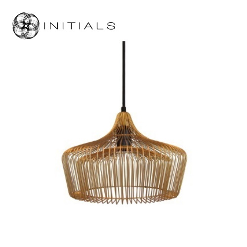 Hanging lamp iron wire gold haans lifestyle b2b shop