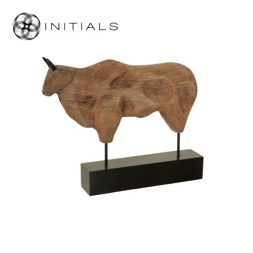 Bull Modern Mango Wood Natural