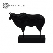 Bull Modern Mango Wood Black
