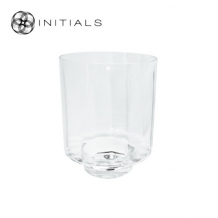 Candleholder OPTIC Clear Glass