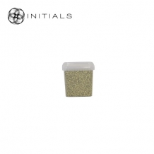Set 9 - Deco Stones Brilliant Granulate 2-3 mm Gold