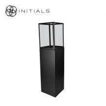 Display Pillar XL Matt Black & Showcase 40 Clear