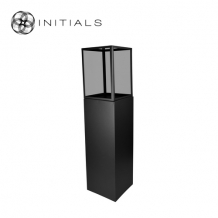 Display Pillar XL Matt Black & Showcase 40 Smoke