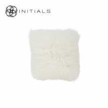 Cushion Sheepskin Snow White