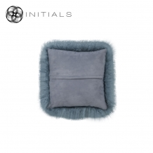 Cushion Sheepskin Sky Grey
