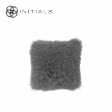 Cushion Sheepskin Ash Grey