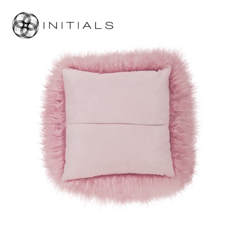 Cushion Sheepskin Aged Pink