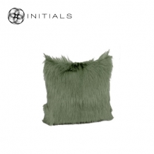 Cushion Ranch Goatskin Olive Green
