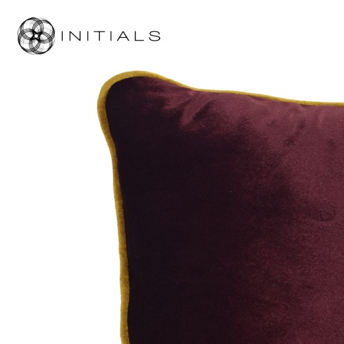 Cushion Studio Murano Wine Bordeaux