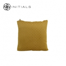Cushion Lodge Geo Rich Gold