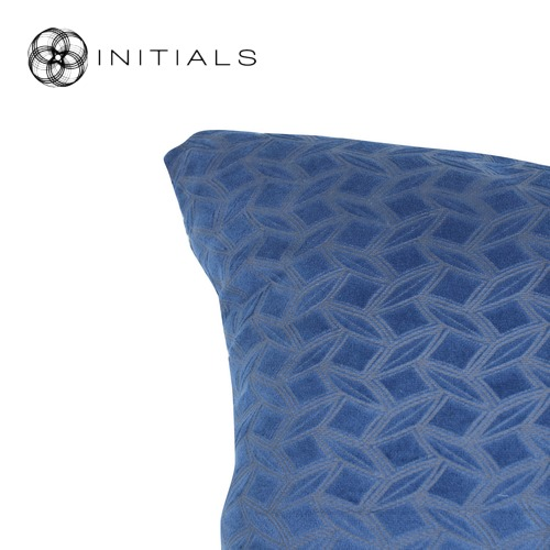 Cushion Lodge Geo Classic Blue