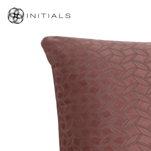Cushion Lodge Geo Blush Pink