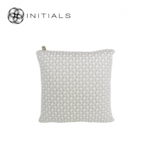 Cushion Lodge Geo Pearl White