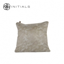 Cushion Lodge Silvera Champagne White