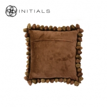 Cushion Cover Pebble Rustic Bronze