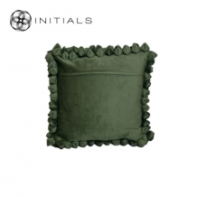 Cushion Cover Pebble Army Green