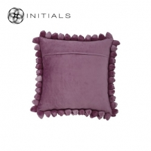 Cushion Cover Pebble Grape Purple