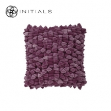 Cushion Cover Penthouse Pebble Grape Purple