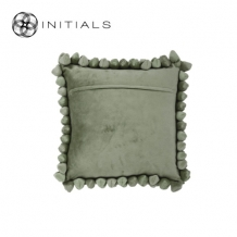 Cushion Cover Pebble Olive Green