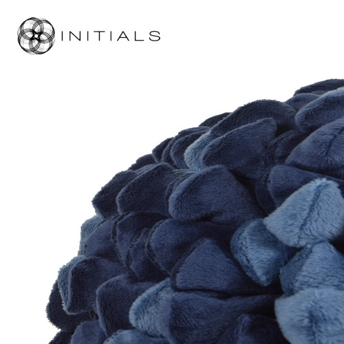 Cushion Ball Penthouse Pebble Evening Blue