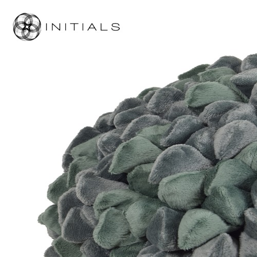 Cushion Ball Penthouse Pebble Olive Green