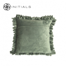 Cushion Cover Pencil Olive Green