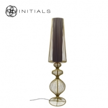 Floor Lamp Moire Classic Iron Wire Gold