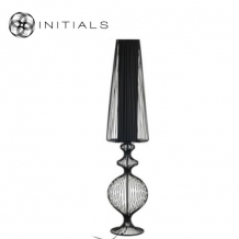 Floorlamp Classic Iron Wire Black