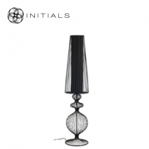 Floor lamp Classic Iron Wire Black