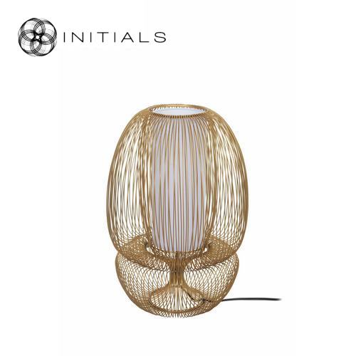 Table Lamp Bubble Straight Iron Gold