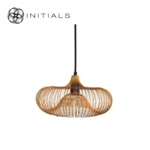 Hanging Lamp Ufo Iron Wire Gold