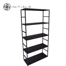 Cabinet 5 Raw Iron Black