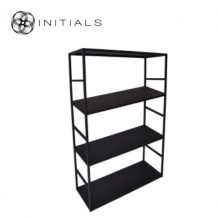 Cabinet 4 Raw Iron Black