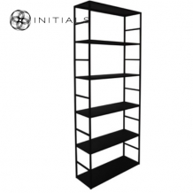 Cabinet 6 Raw Iron Black