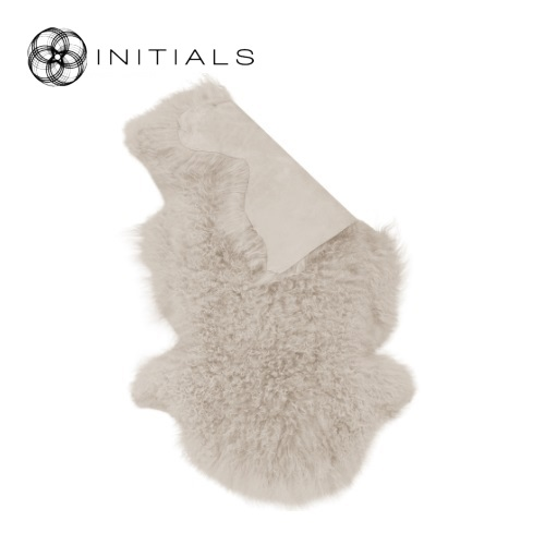 Carpet Sheepskin Champagne White