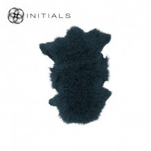 Carpet Sheepskin Ink Blue