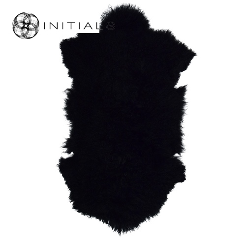 Carpet Sheepskin Night Black