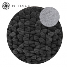Carpet Pebble Dark Graphite Round