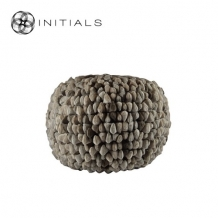 Poof Round Pebble Sand Taupe