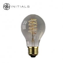 Light Bulb Standard Led Spiral Dimmable Titanium/smoke glass