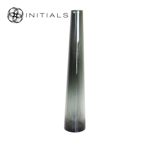 Vase Stretch Smoke Glass High